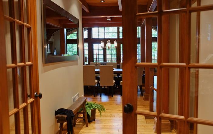 Corridor - Maison de luxe Tremblant