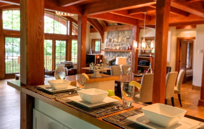 Déjeuner - Maison de luxe Tremblant