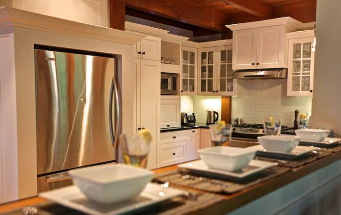 Cuisine - Maison de luxe Tremblant