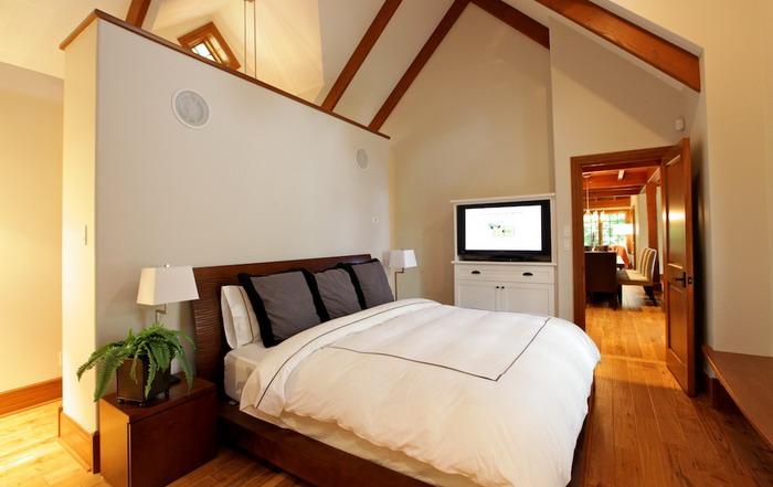 Chambre - Maison de luxe Tremblant