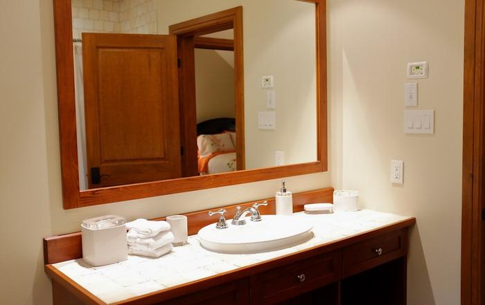 Salle de bain - Maison de luxe Tremblant